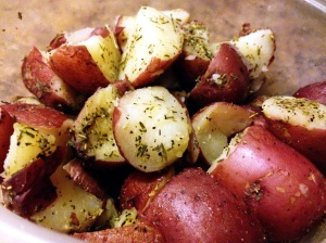 rosemary thyme potatoes